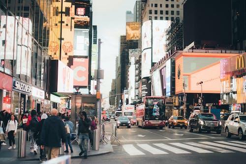Gratis lagerfoto af annonce, by, byens gader