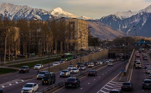 Free stock photo of almaty, city, traffic