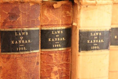 Free stock photo of binder, books, Kansas, law