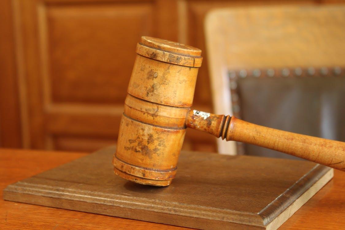 chair, court, gavel
