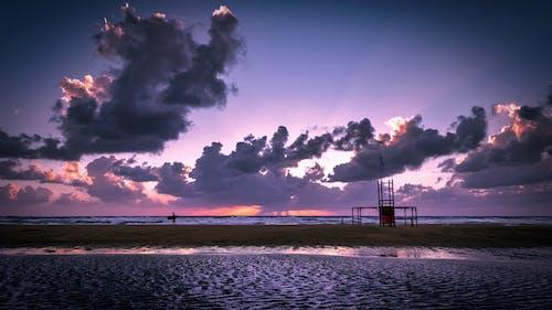 Kostenloses Stock Foto zu abend, himmel, landschaft, meer