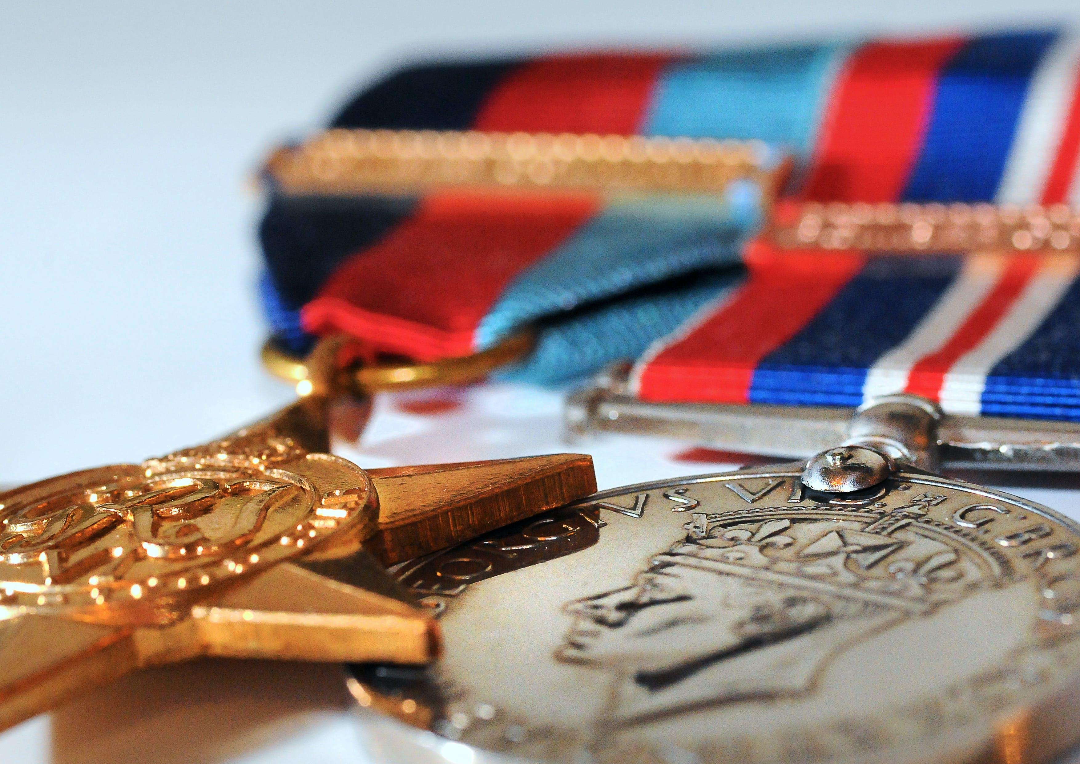 Free stock photo of WWII Medals