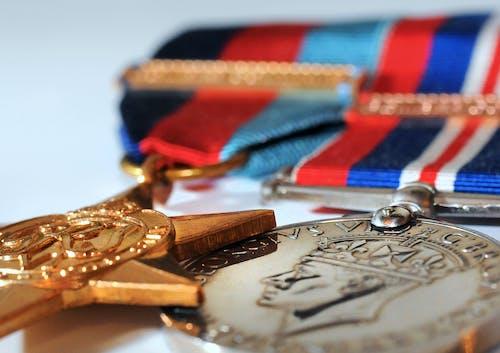 Kostenloses Stock Foto zu wwii medaillen