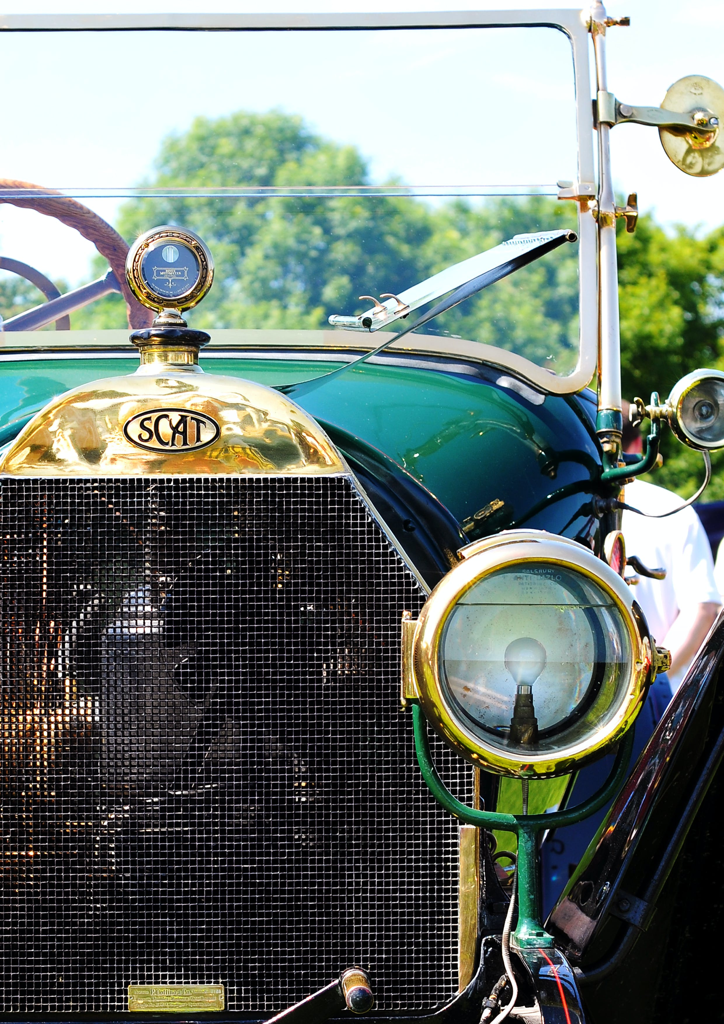 Close-Up Photography of Classic Car