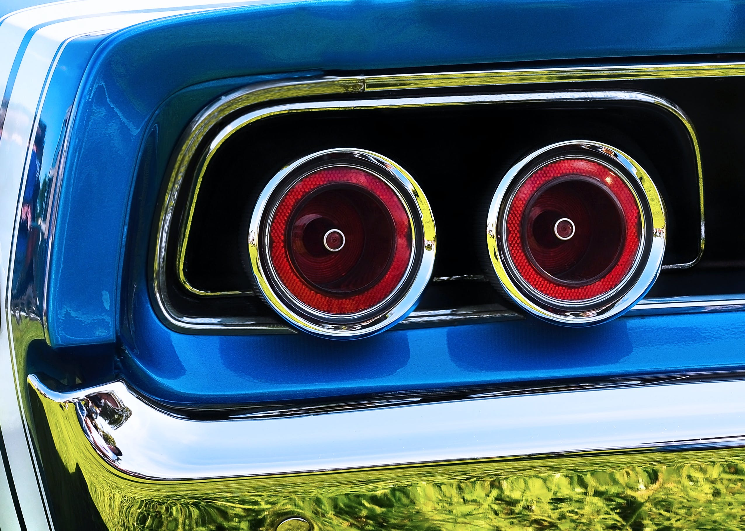 Free stock photo of chrome, detail, dodge charger, muscle car