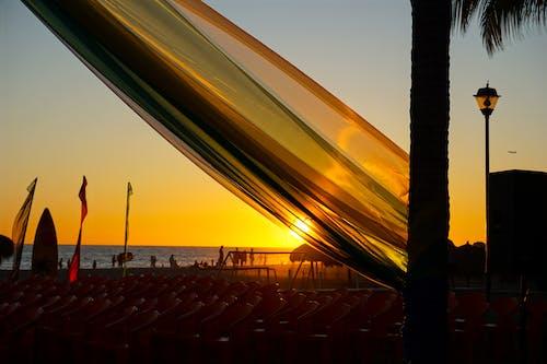 gün batımı, Meksika, okyanus, plaj içeren Ücretsiz stok fotoğraf
