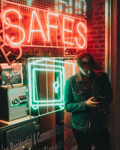 Imagine de stoc gratuită din neon, portret, portret creativ