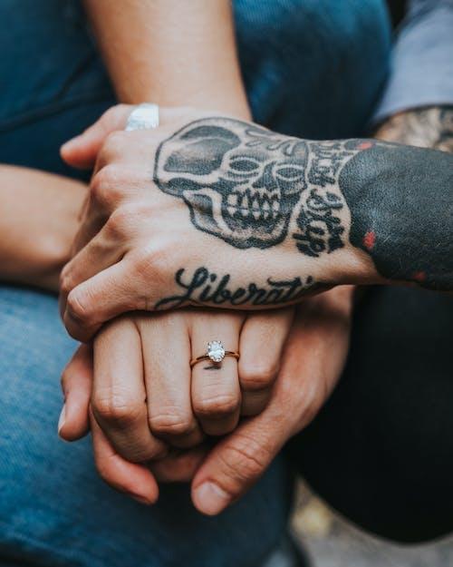 Close up on Hands Together
