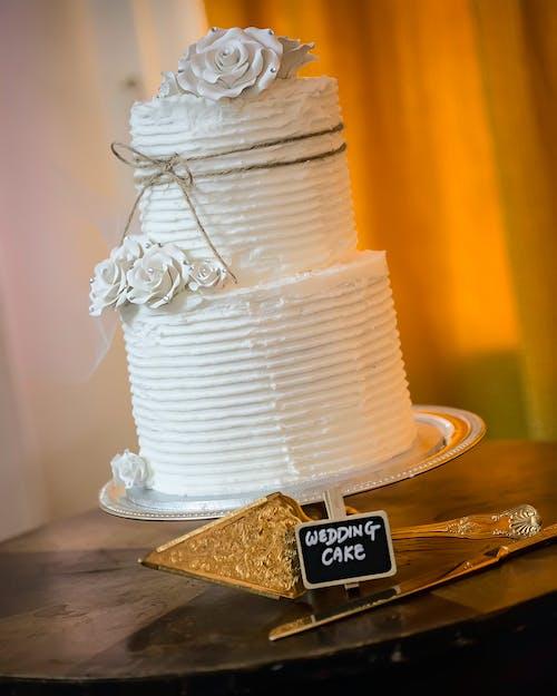 Základová fotografie zdarma na téma dort, svatba, Svatební dort