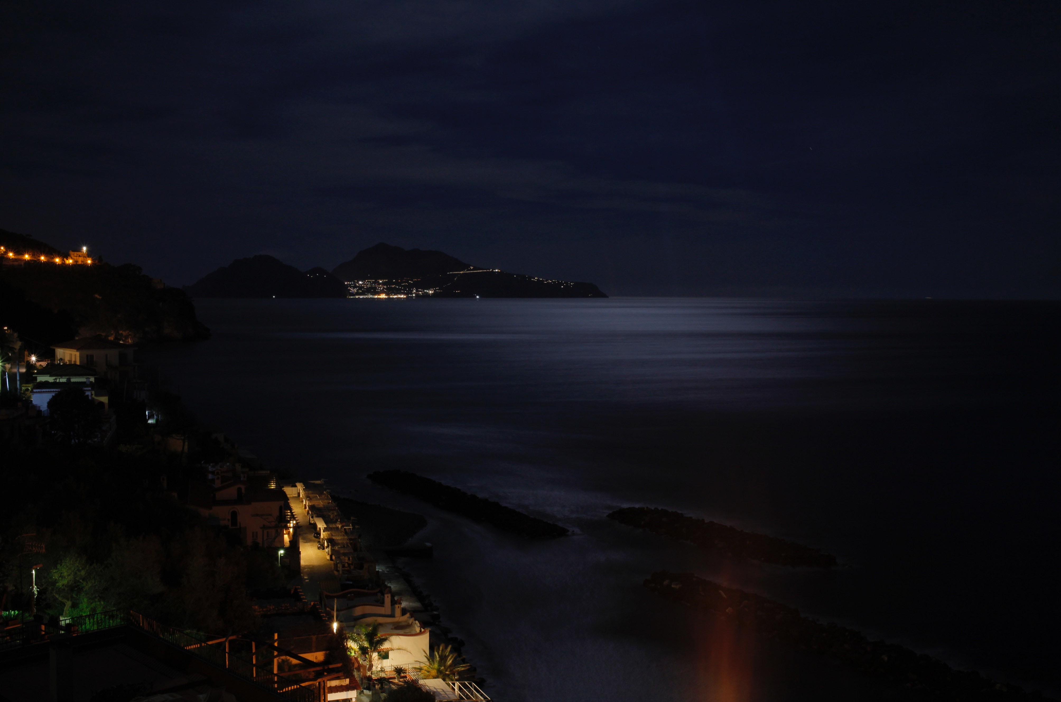 Free stock photo of long exposure, moonlight, night
