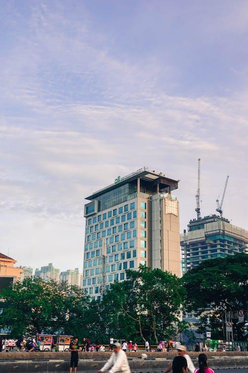 人, 地標, 城市, 塔 的 免费素材照片