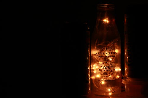 Lighted Bottle