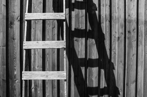 Brown Wooden Ladder