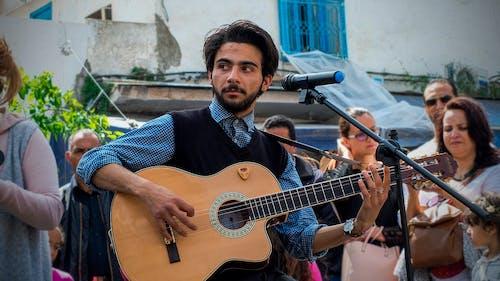 吉他, 愛, 看著, 音樂 的 免費圖庫相片