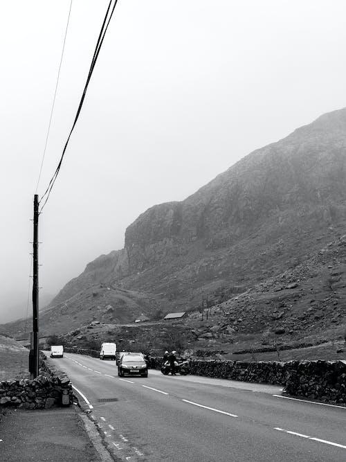 Free stock photo of mountain, road, road trip