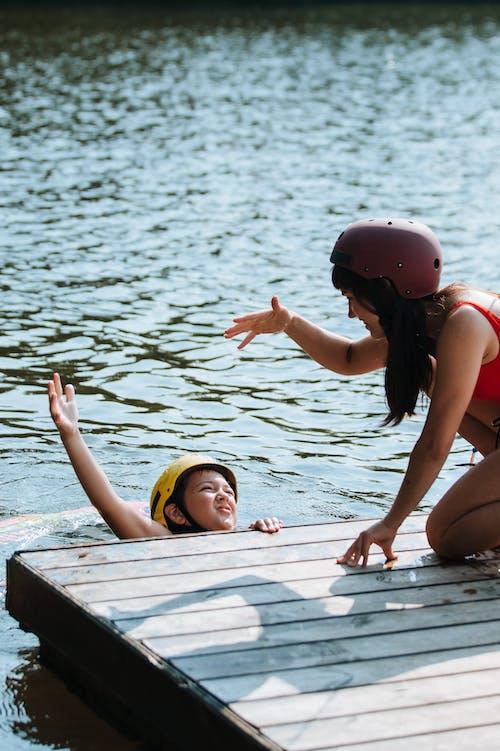 Безкоштовне стокове фото на тему «активний спосіб життя, берег озера, виходить»