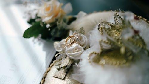 Foto d'estoc gratuïta de anell, boda, casament