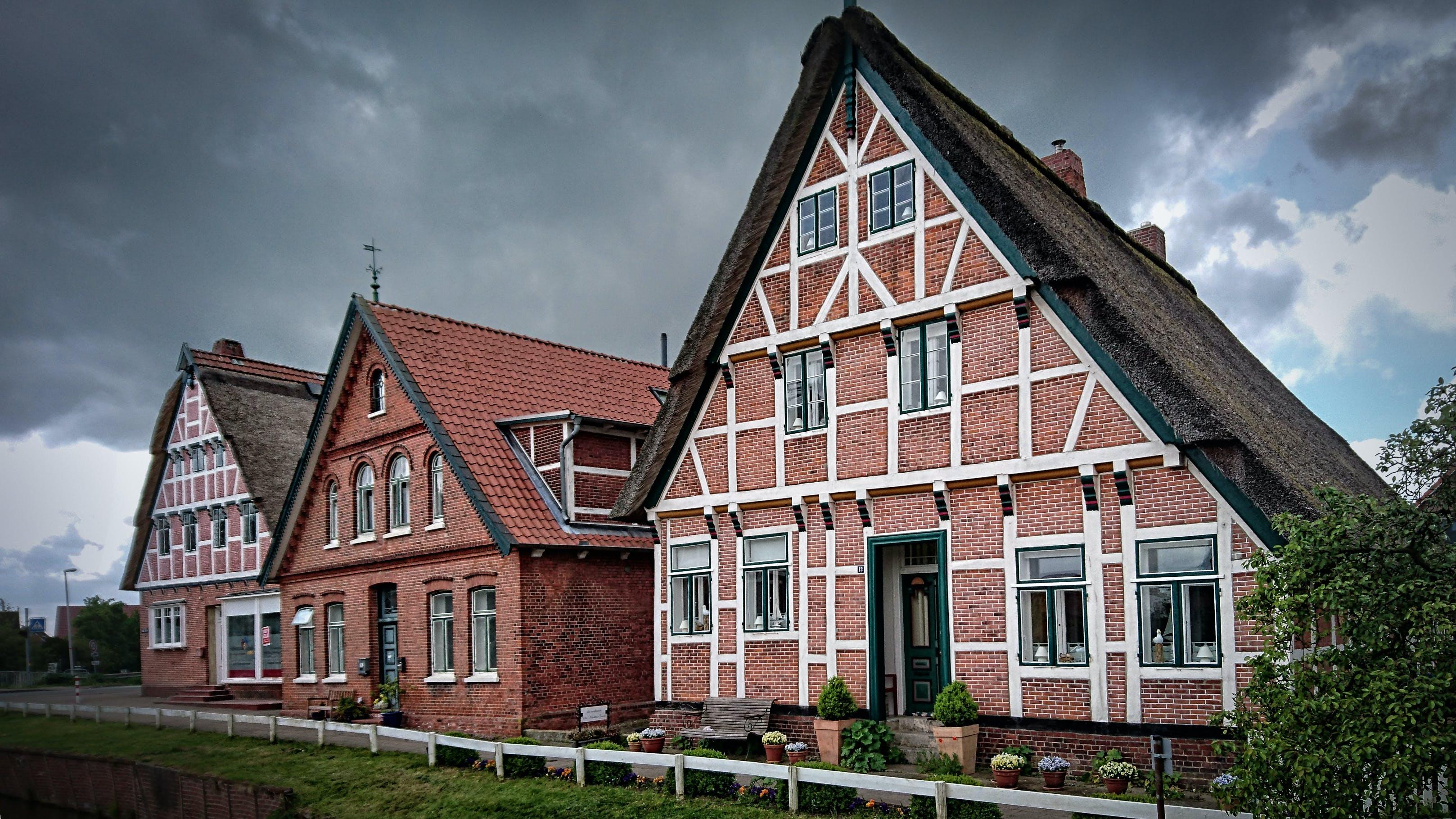 Brown Brick Houses