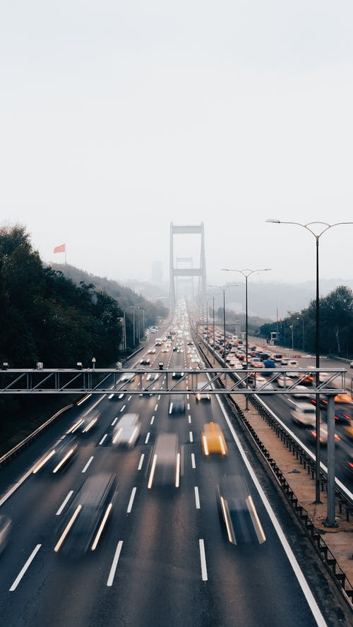 Free stock photo of architecture, blur, bridge