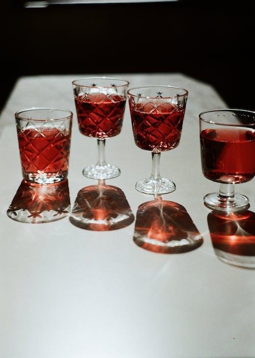 Základová fotografie zdarma na téma brýle, červené víno, červený nápoj