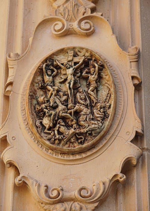 Free stock photo of christ, cross, ornament
