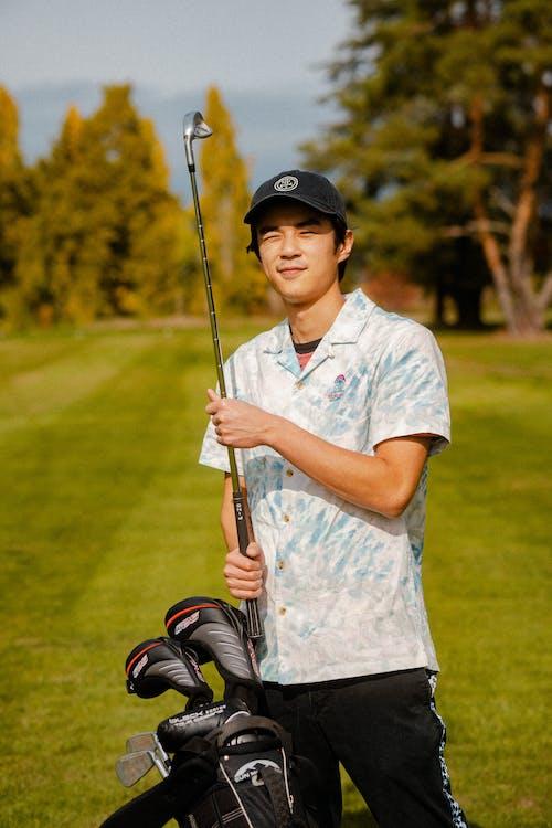 Portrait of Asian Golfer