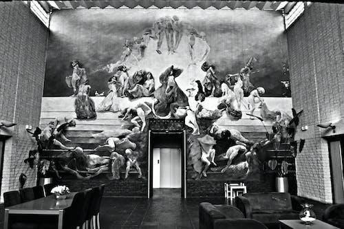 건축가, 방, 예술, 월 아트의 무료 스톡 사진