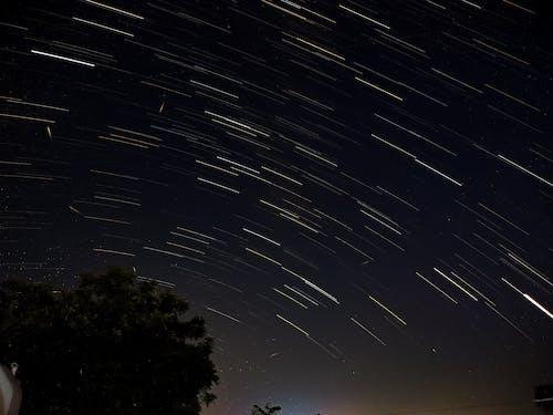 Бесплатное стоковое фото с звездный след, звезды, звезды и полосы