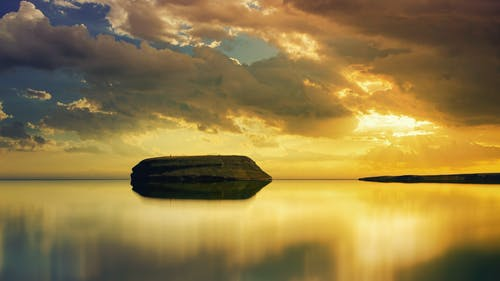 Free stock photo of beach, dawn, dramatic