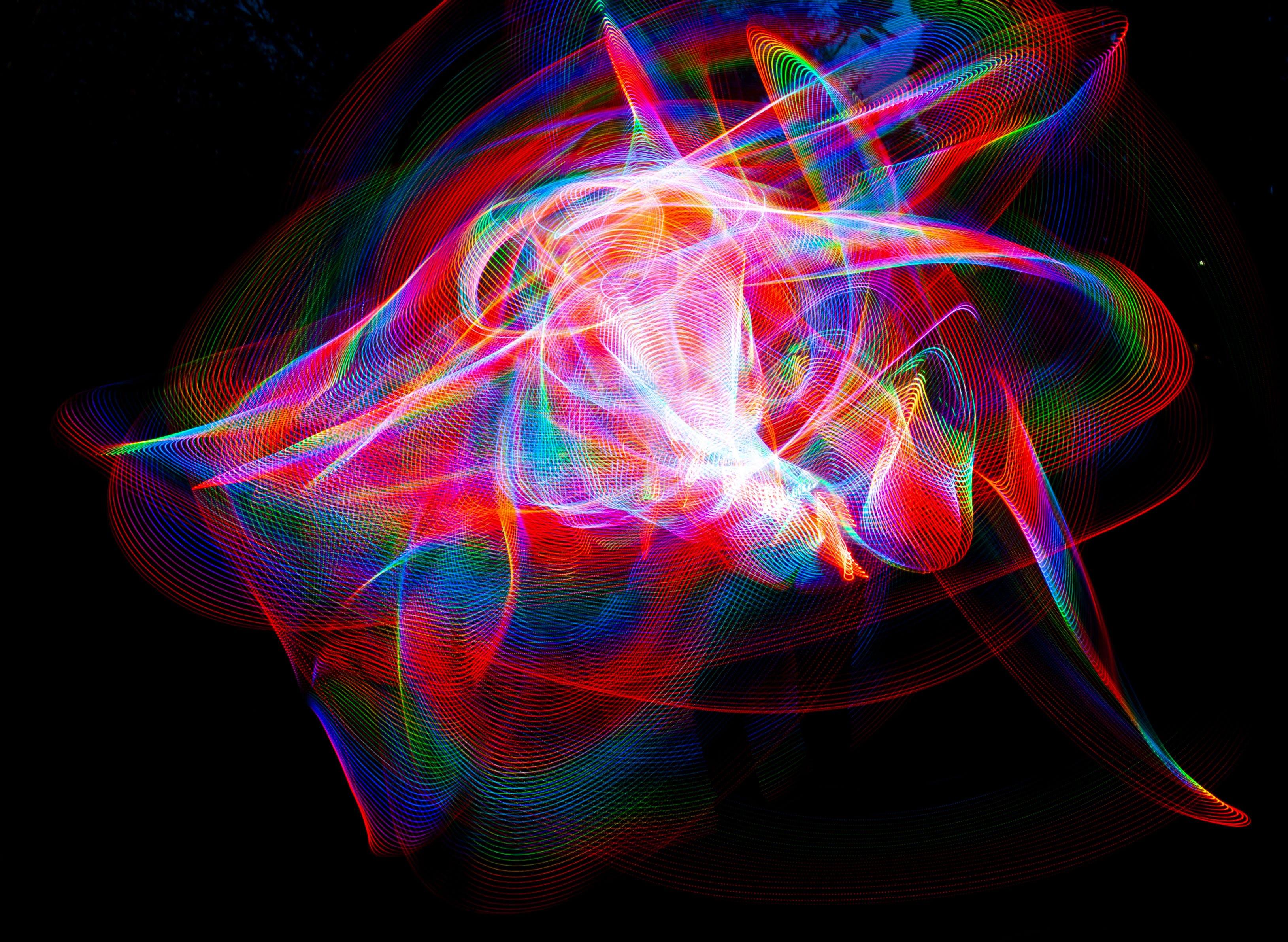 Multicolored Graphics Art