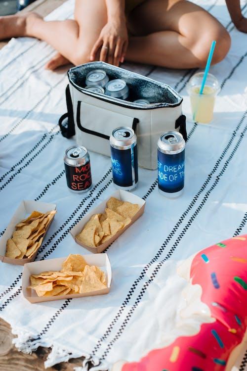 abur cuburlar, açık hava, atıştırmalıklar içeren Ücretsiz stok fotoğraf