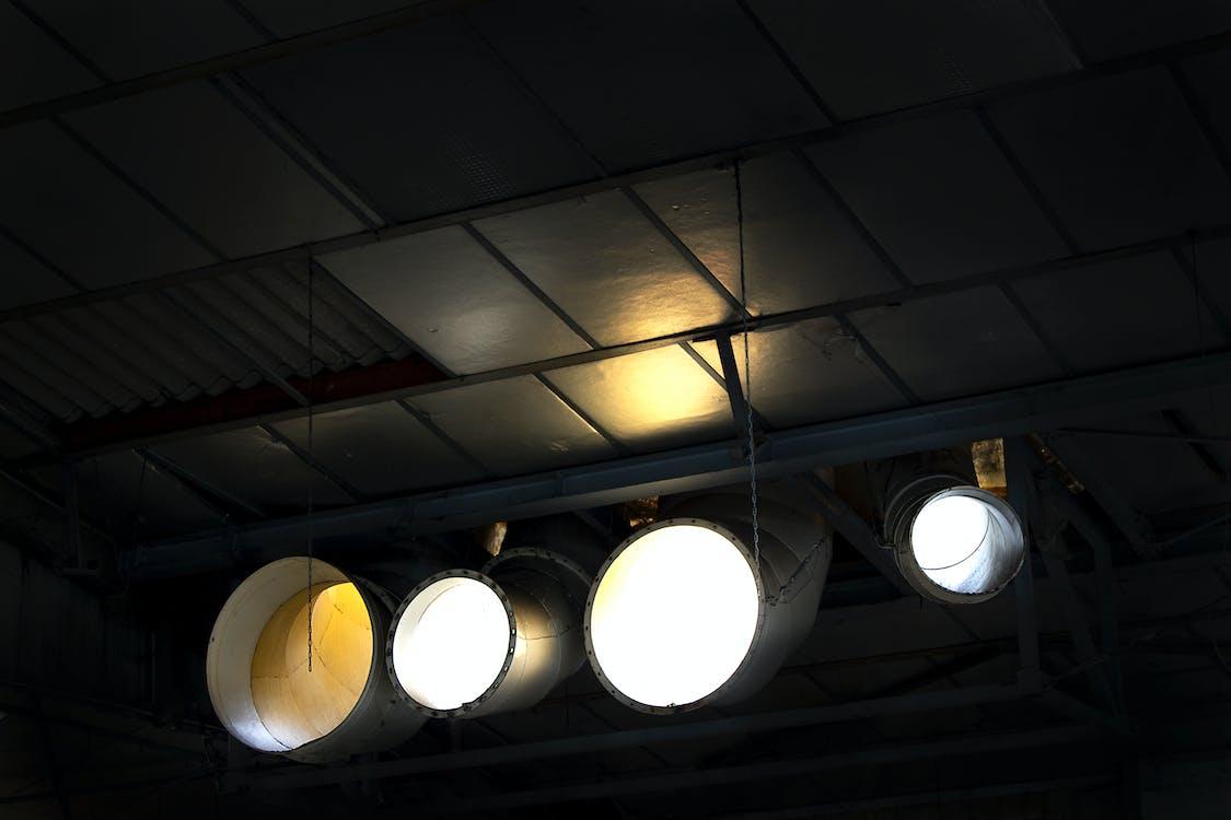 cahaya, industri, sinar
