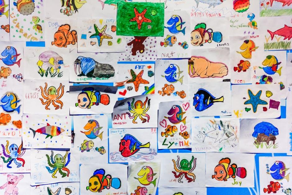 Yuk, bantu anak merangkai huruf melalui gambar. (Foto: Pexels)
