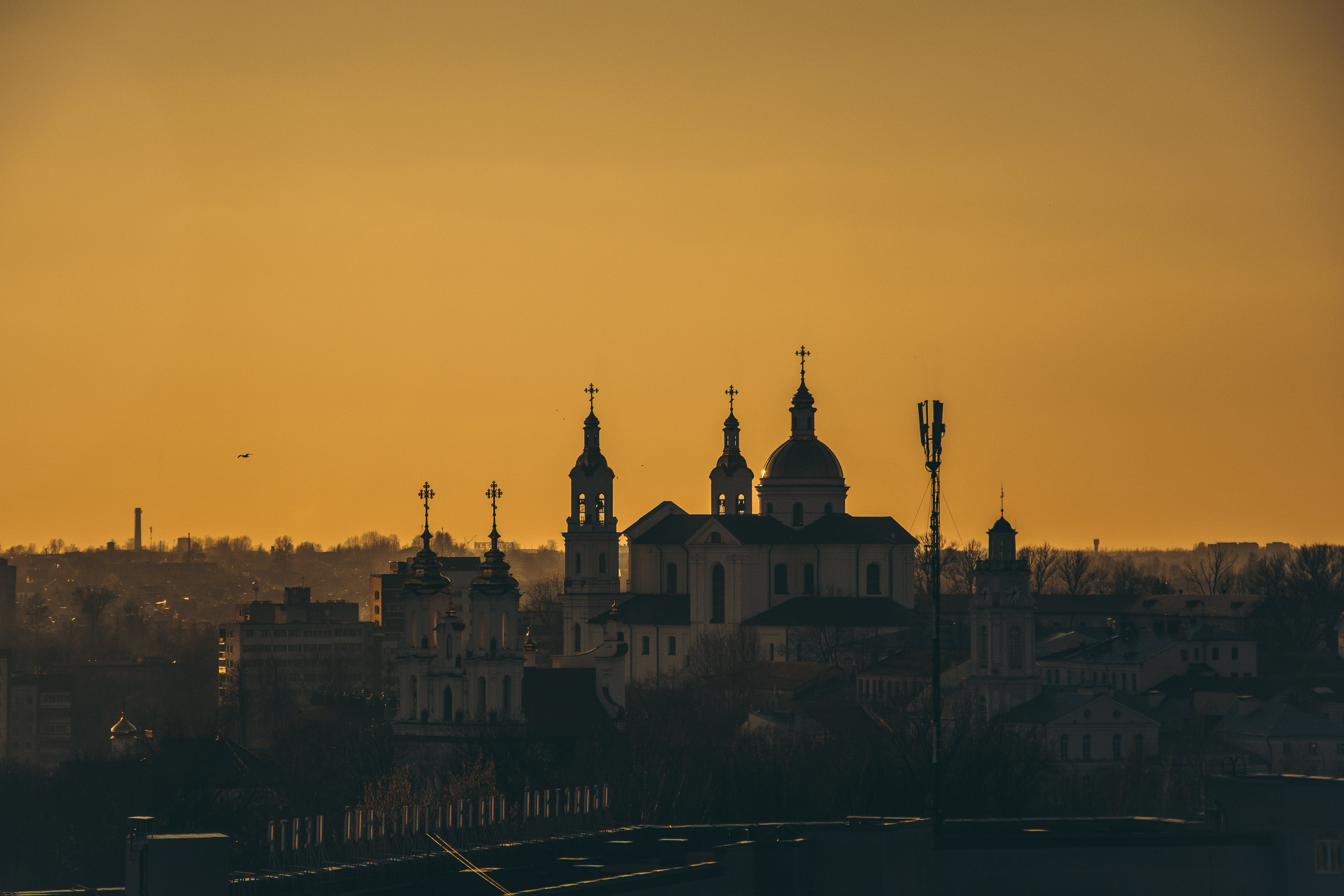 City Landscape during Dusk