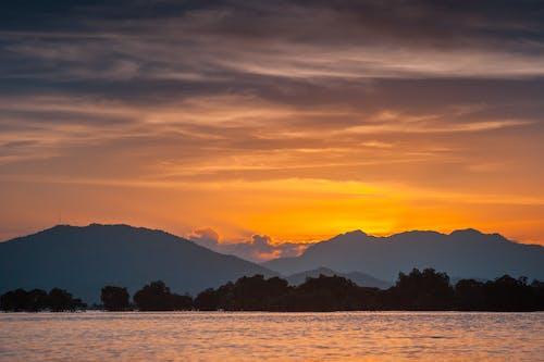 Foto profissional grátis de alvorecer, amanhecer, aurora, calma