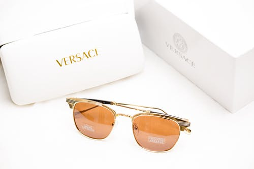 Brown Versace Sunglasses