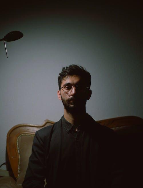 Základová fotografie zdarma na téma brejle, brýle, černá