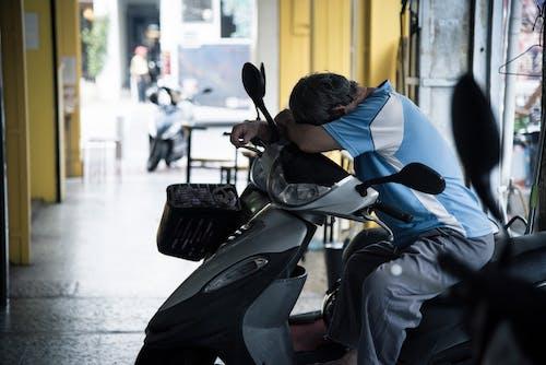 คลังภาพถ่ายฟรี ของ คน, ถนน, นอน