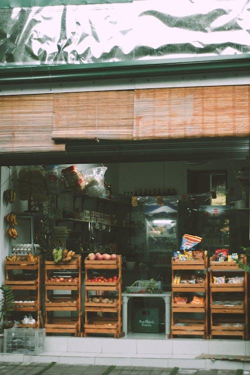 Kostenloses Stock Foto zu bürgersteig, draußen, einkaufen