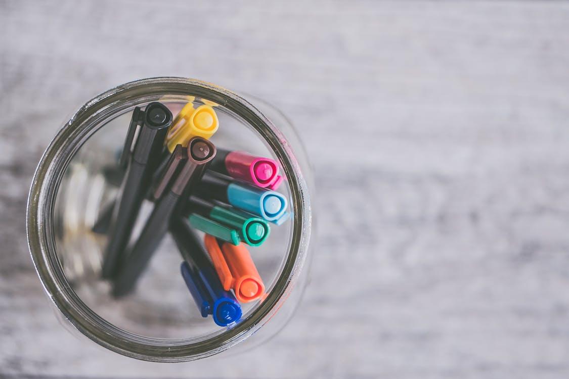 boli, bolígraf, bolígrafs de colors