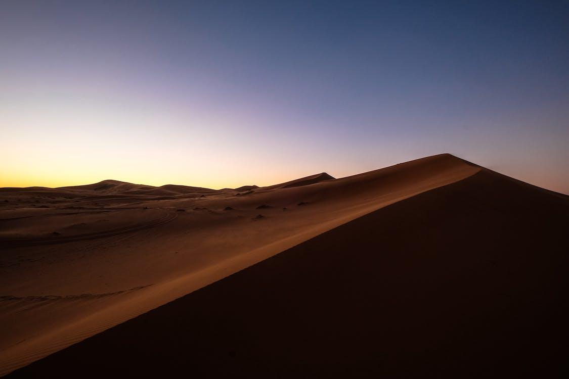 Desert Sand during Golden Hour
