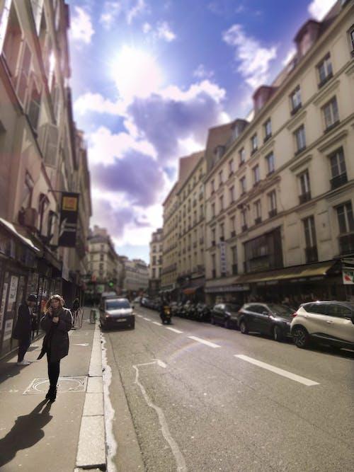 Kostnadsfri bild av gata, molnig, molnig himmel, paris
