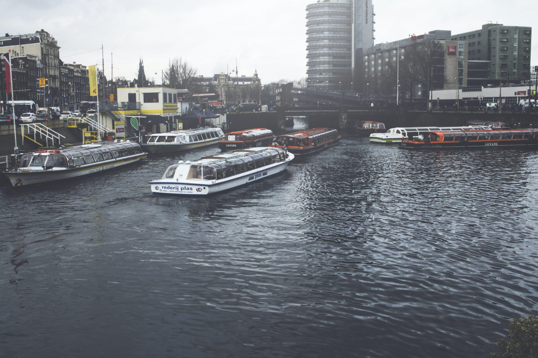Gratis lagerfoto af Amsterdam, by, bygning, vand