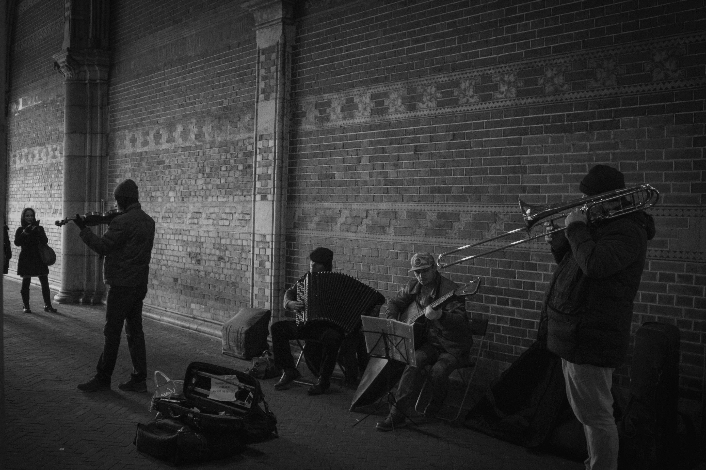 Gratis lagerfoto af Amsterdam, band, by, folk