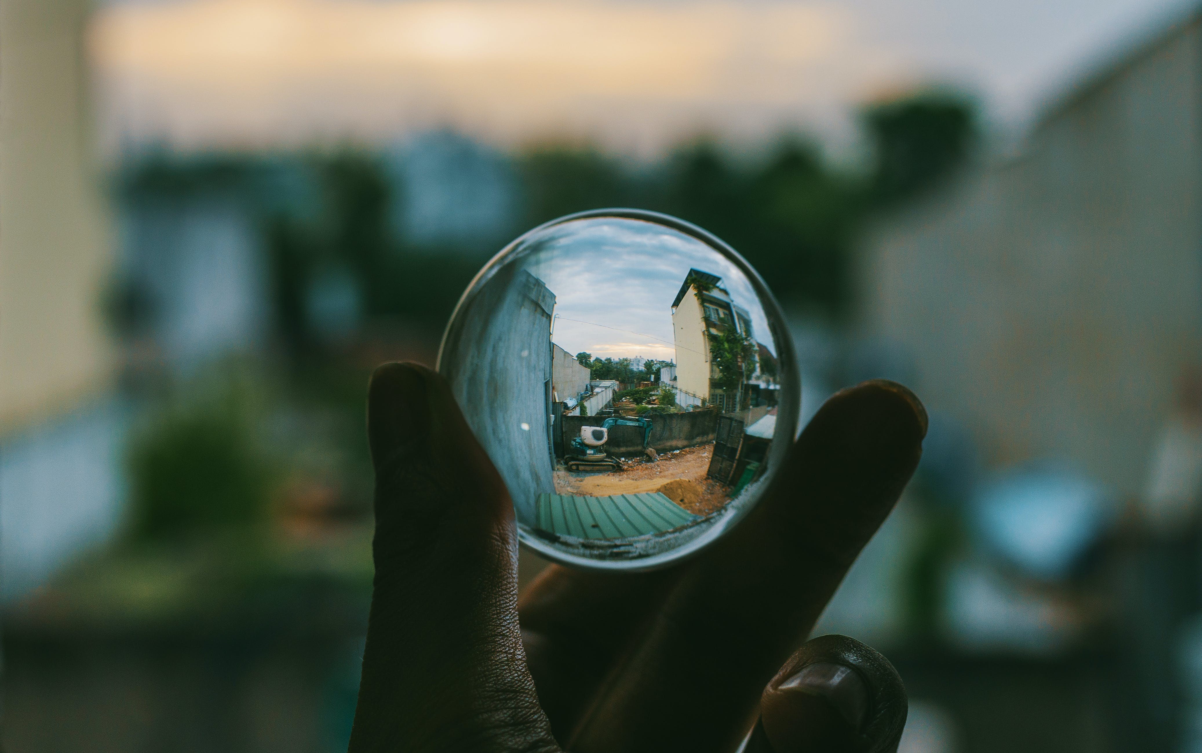 Clear Sphere Crystal