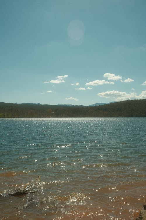 Blue Lake and Hills