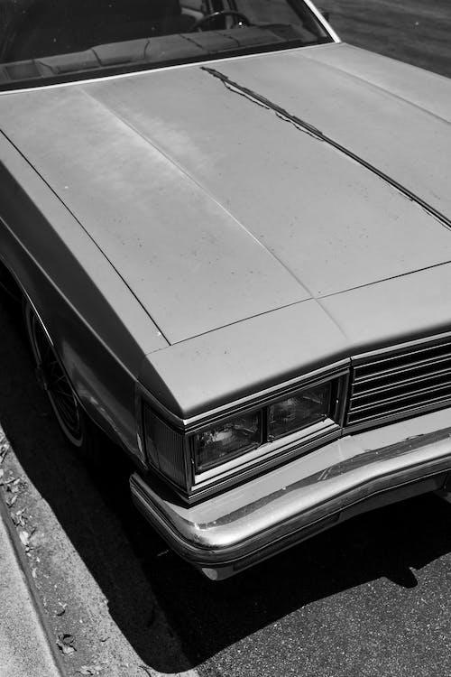 Δωρεάν στοκ φωτογραφιών με vintage αυτοκίνητο, αντίκα, ασπρόμαυρο