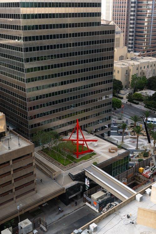 Бесплатное стоковое фото с вертикальный, высокий взгляд, город