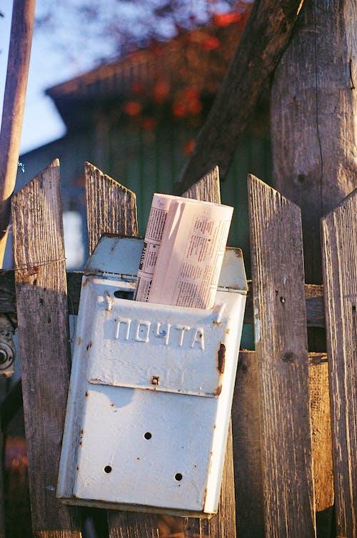 Photos gratuites de barrière, boîte aux lettres, clôture