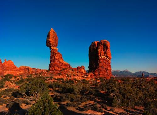 Бесплатное стоковое фото с геология, живописный, засушливый, красная скала